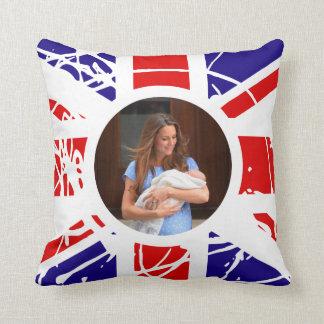 Prince George Royal Behandla som ett barn Kudde