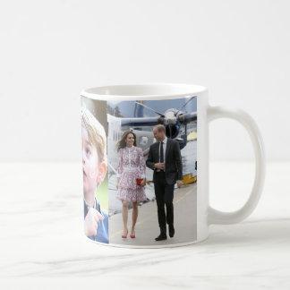 Prince George & William Princess Charlotte & Kate Kaffemugg