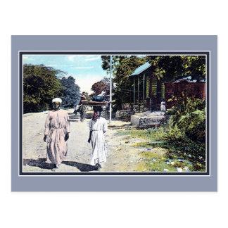 Prince Haiti för Au för port för vintageca 1900 Vykort