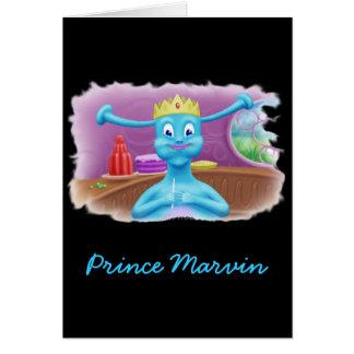 Prince Marvin på Britas shoppar Hälsningskort