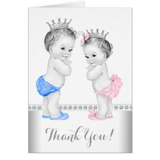 Prince och Princess tack OBS Kort