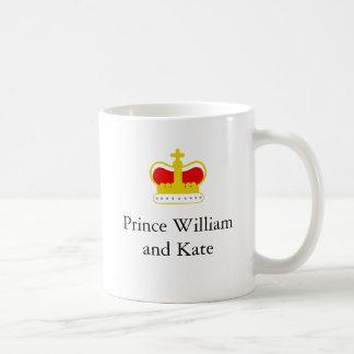 Prince William och Kate Kaffemugg