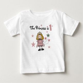 Princess 1st födelsedag t-shirts