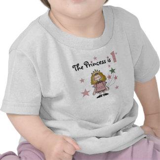 Princess 1st födelsedag t shirt