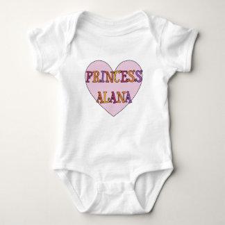 Princess Alana Behandla som ett barn Utrusta T-shirt
