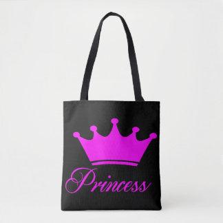 Princess Bära på Hänga lös Tygkasse