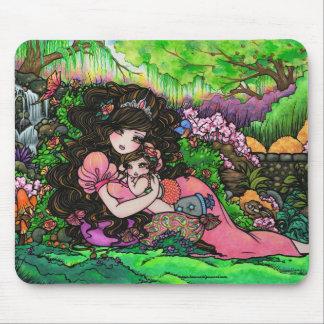 Princess Behandla som ett barn Fantasi Arbeta i tr Musmatta