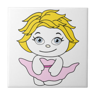 Princess Dans Tecknad Monroe Kakelplatta