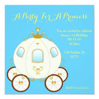 Princess Festa Fyrkantigt 13,3 Cm Inbjudningskort