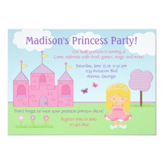 Princess Festa Inbjudan 12,7 X 17,8 Cm Inbjudningskort