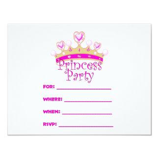Princess Festa Inbjudan 10,8 X 14 Cm Inbjudningskort