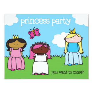Princess Festa - inbjudan