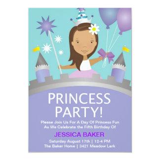 Princess Festa - lila 12,7 X 17,8 Cm Inbjudningskort