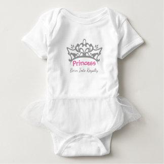 Princess Född In i Royalty - Bodysuit Tee Shirt