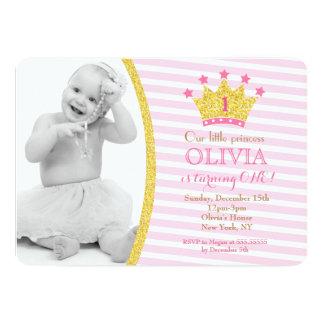 Princess Födelsedag Inbjudan