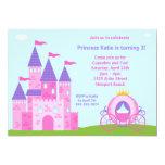 Princess födelsedagsfest inbjudan 12,7 x 17,8 cm inbjudningskort