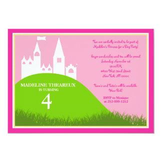 Princess för en dag 12,7 x 17,8 cm inbjudningskort