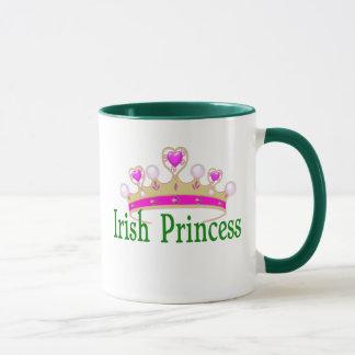 Princess för irländare för st patricks mugg
