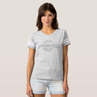 Princess - grå färg tee shirt