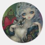 """""""Princess med klistermärken för en Ragdoll katt"""""""