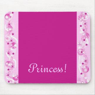Princess! Rosa Mousepad fantasi Musmatta