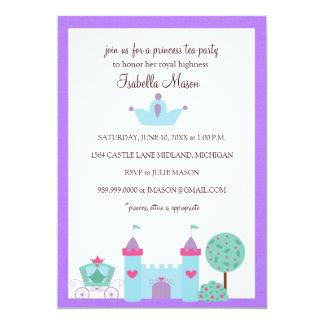 Princess Tea Festa Inbjudan 12,7 X 17,8 Cm Inbjudningskort