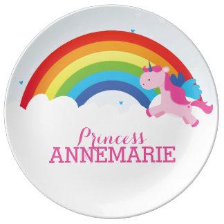Princess Unicorn Porslinstallrik