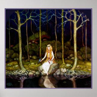 Princessen i skogen poster