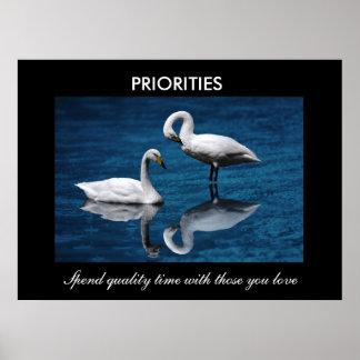Prioriteter Affisch
