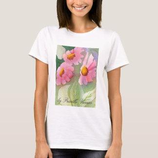 Pris blommar serie tee shirts