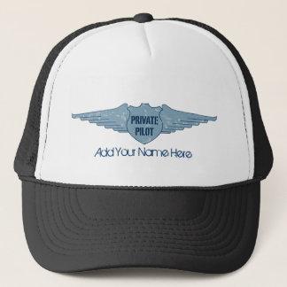 Privat pilot- blåttvingar keps