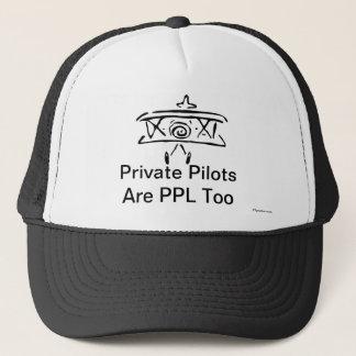 Privata Pilots är PPL för Truckerkeps