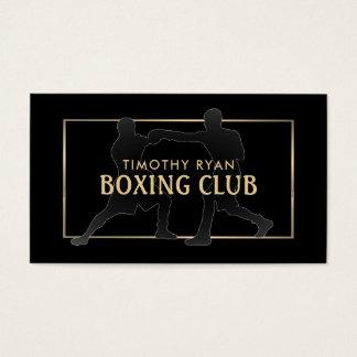 Pro boxare för vintage som boxas visitkort
