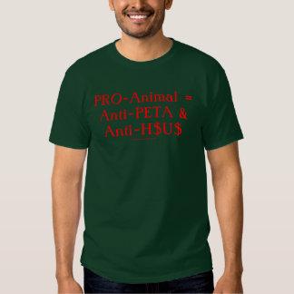 PRO-Djur = anti-PETA & Anti-H$U$ Tröja