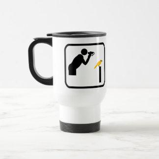 Pro fågelskådare kaffe kopp