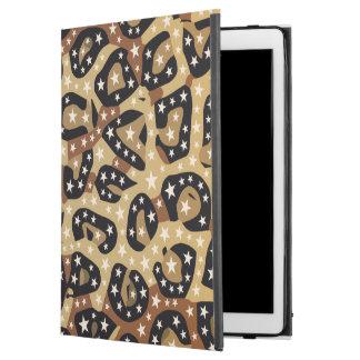 Pro fodral för brun iPad för Cheetahtryckstjärnor