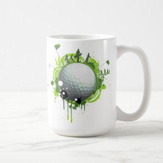 Pro för Golf Kaffemugg