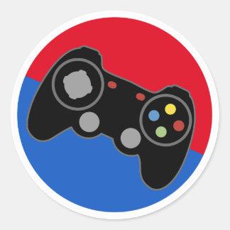 Pro Gamer för liga Runt Klistermärke