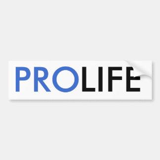 Pro-Liv Bildekal