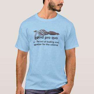 pro quo för tioarmad bläckfisk t shirt