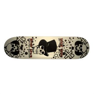 Pro rockstjärnaSkateboard Old School Skateboard Bräda 18 Cm