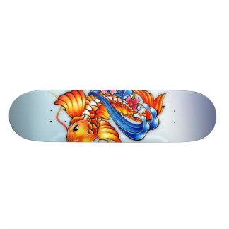 Pro Skateboard för flygKoi fisk