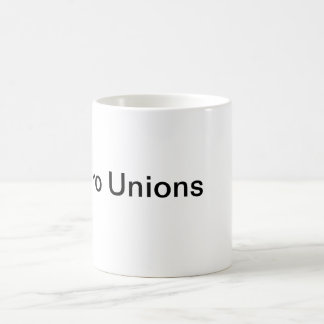 Pro unioner magisk mugg