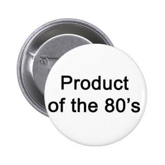 Produkt av 80-tal standard knapp rund 5.7 cm