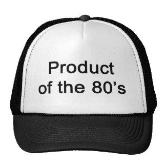 Produkt av 80-talhatten mesh kepsar