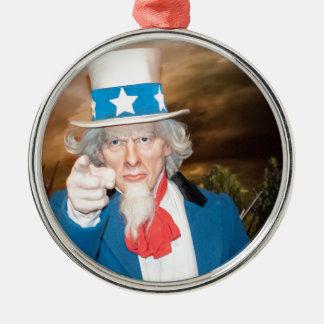 Produkter för Uncle Sam Julgransprydnad Metall