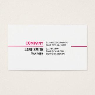 Professionell för elegant för Cosmetologist för Visitkort