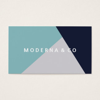 Professionell för kvarter för färg för modern visitkort