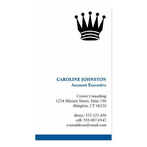 Professionell för logotyp för utöva blåttrand best visitkort mall