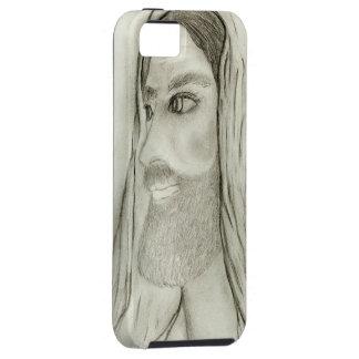 Profilera av Jesus iPhone 5 Case-Mate Fodral